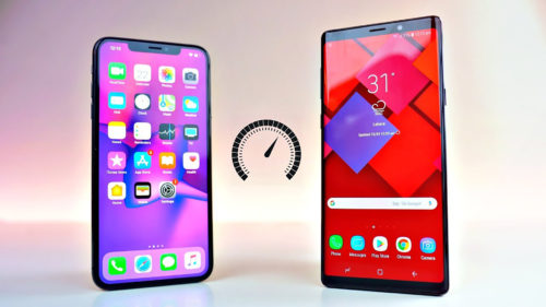 iPhone Xs Max vs. Galaxy Note 9: care are bateria mai bună