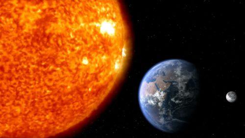 FOTO Imaginea istorică cu Pământul văzut de la Soare