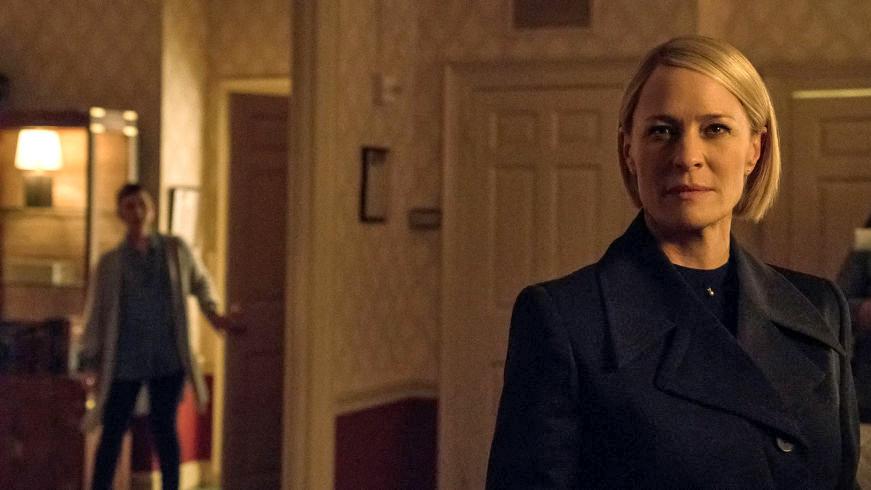 House of Cards sezonul 6 Claire Underwood POTUS (3)