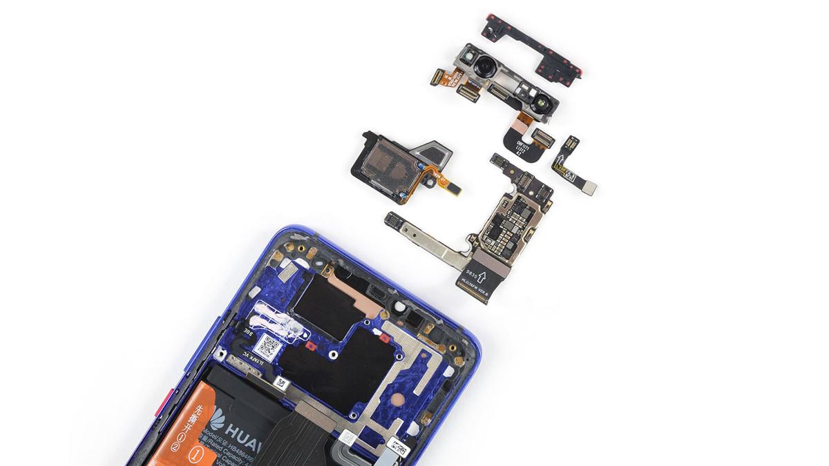 Huawei Mate 20 Pro dezasamblat (11)