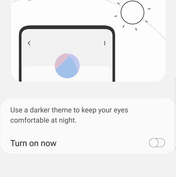 Night Mode Android Pie Galaxy Note 9