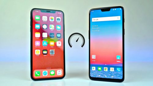 OnePlus 6T vs. iPhone Xs Max: care telefon e mai rapid
