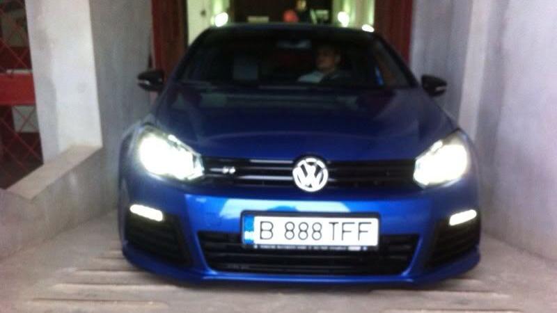 Volkswagen Golf masina Valentin Dragnea fiul lui Liviu Dragnea
