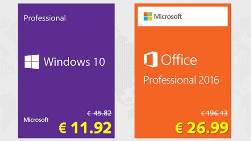 [Ofertă] Reduceri de 10% pentru Windows 10 la 11,92 de euro și Office 2019 la 39,59 euro cu SCDKey! (P)