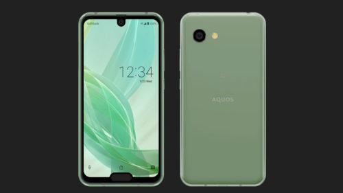 Sharp Aquos R2 compact este primul smartphone cu două crestături, dacă ți-l doreai