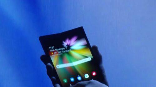 Samsung are planuri ambițioase pentru telefonul pliabil