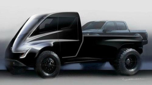 Elon Musk îți propune o camionetă Tesla scoasă din filmele SF