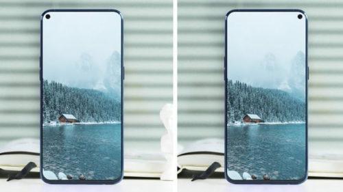Samsung taie fața Huawei cu Galaxy A8s, primul telefon cu display perforat