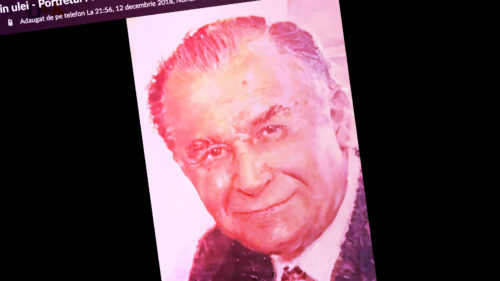 Ion Iliescu, pe OLX: cât costă să ai un tablou în ulei cu fostul președinte