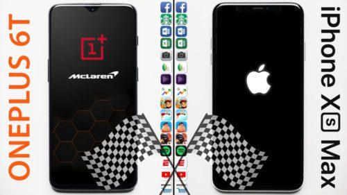 OnePlus 6T cu 10 GB RAM vs. iPhone Xs Max: care este mai rapid