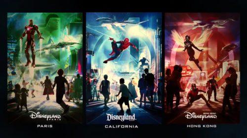 Cum vor arăta atracțiile Marvel din parcurile de distracție Disneyland