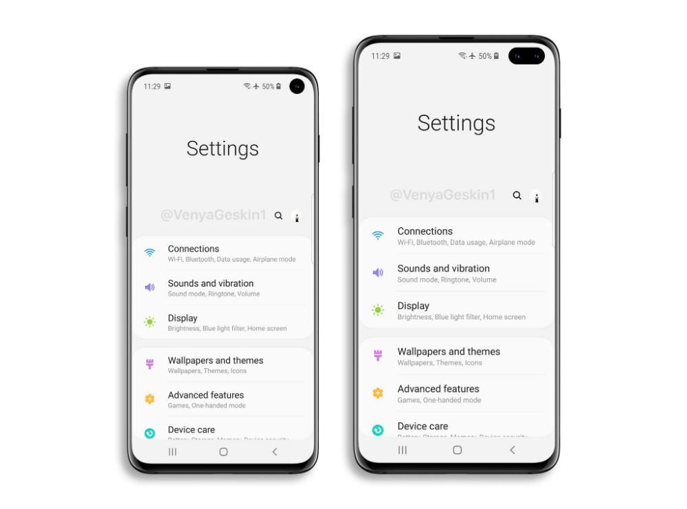 Samsung Galaxy S10 One UI 2