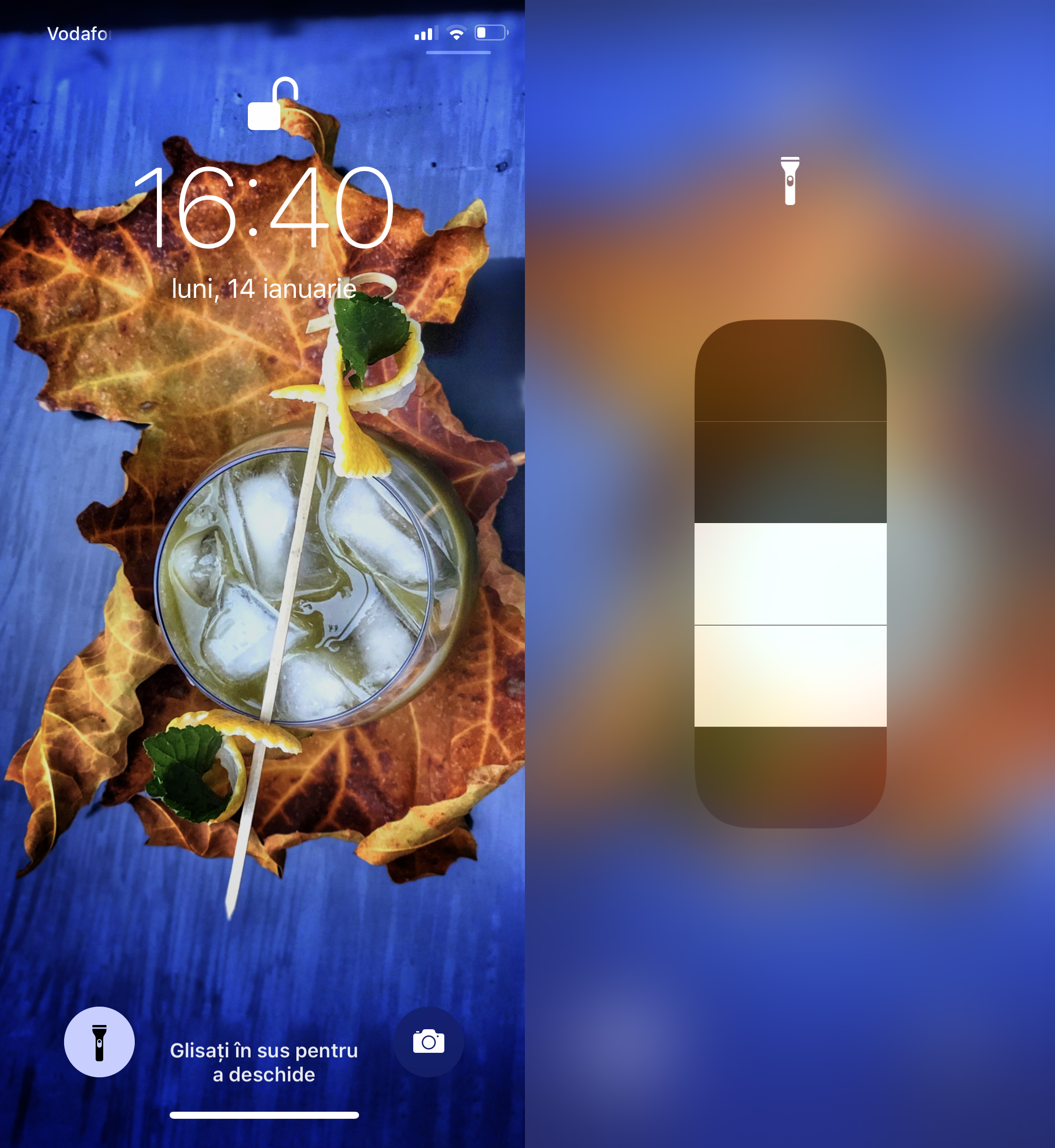 Telefonul ca lanterna iPhone