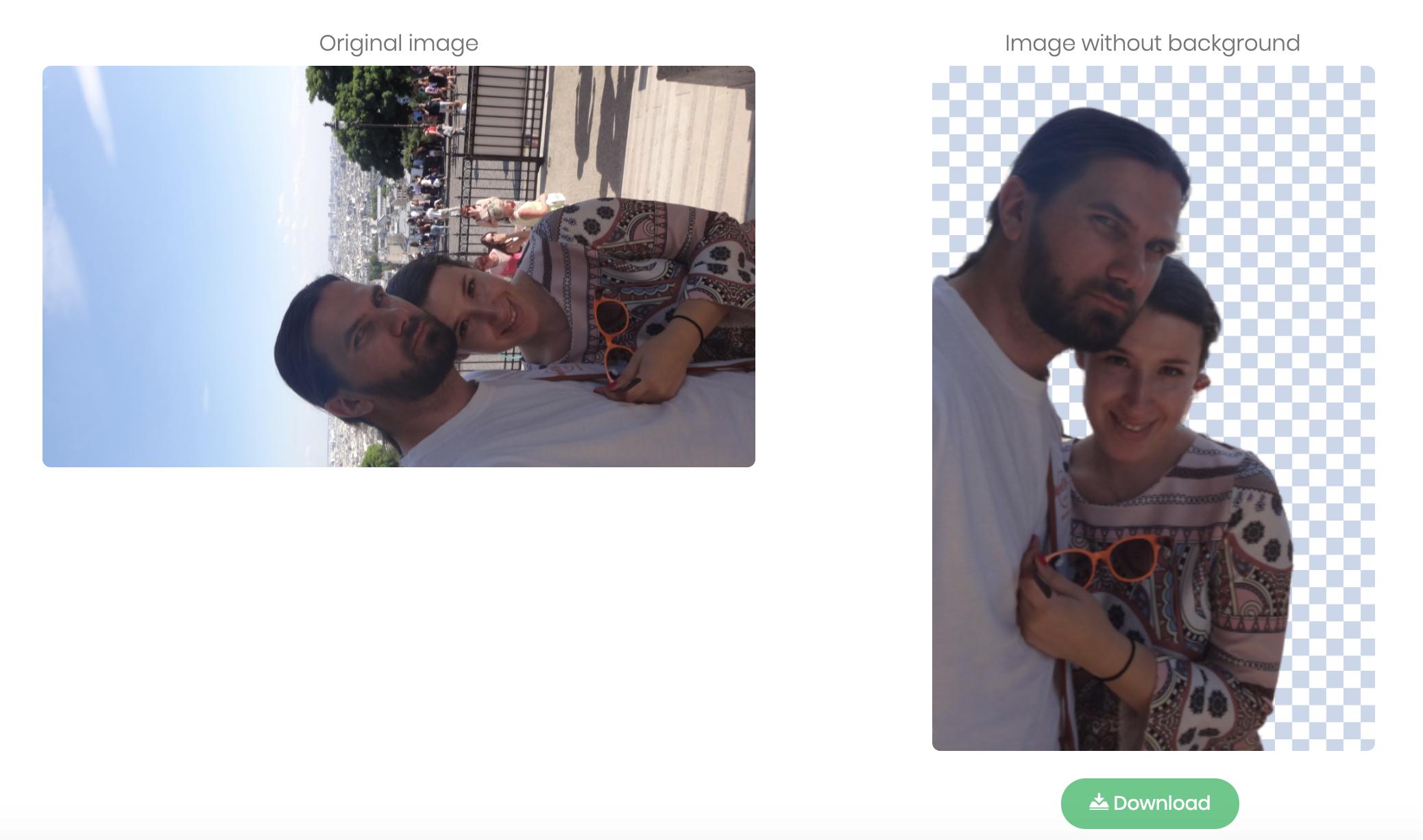 end Cum decupezi rapid subiectul central dintr-o poză online
