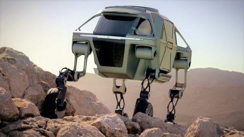 Mașina cu picioare reinventează roata și ar putea schimba viitorul