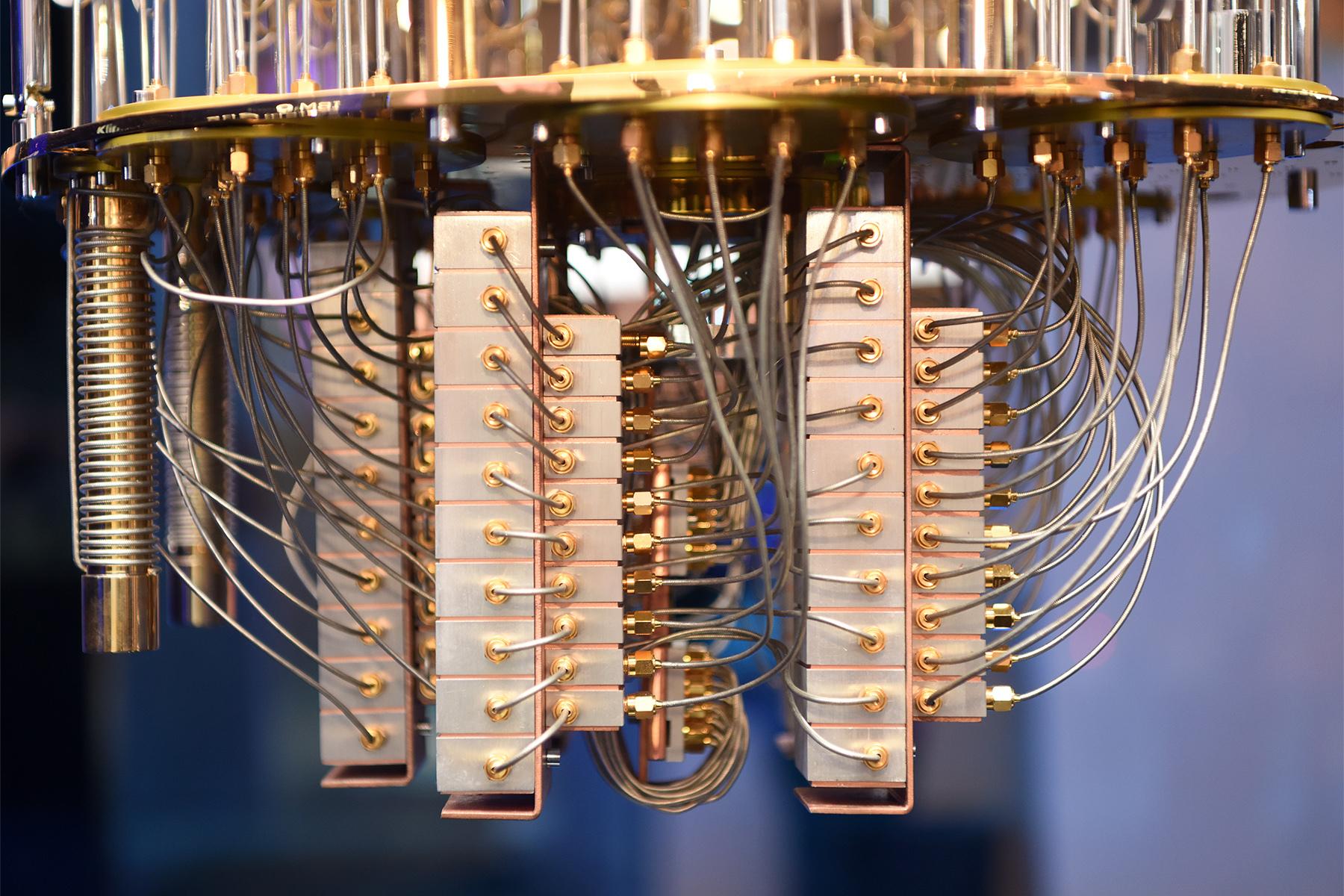 ibm q system one calcualtor cuantic