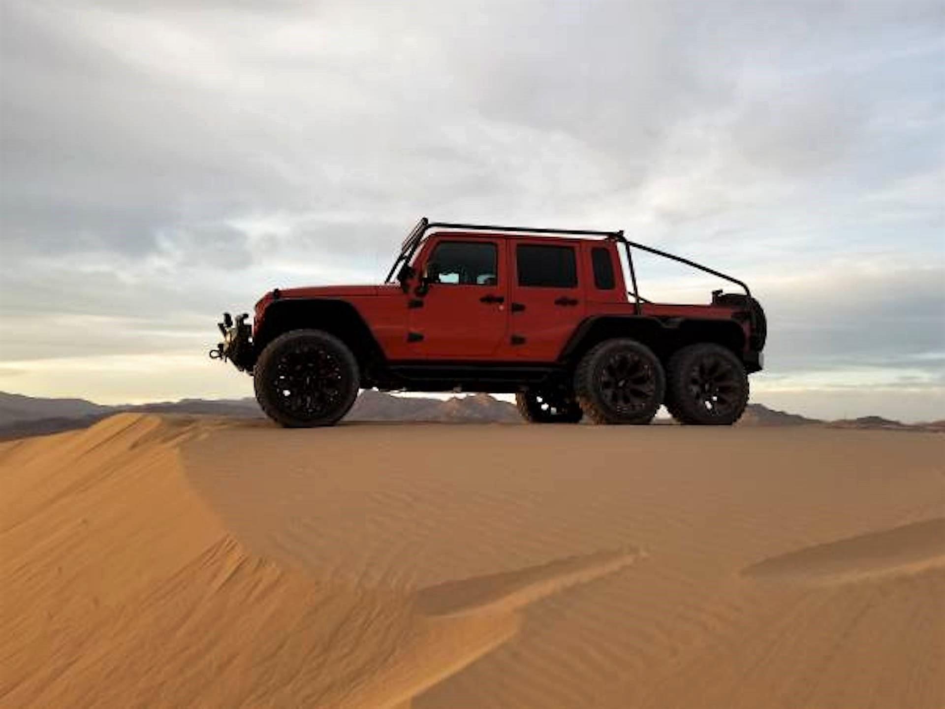 jeep wrangler 6x6 suv