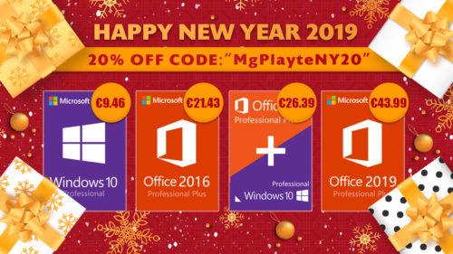Promoție nouă pentru 2019: Windows 10 Pro la 9,46 euro, Office 2016 Pro la 21,43 euro (P)