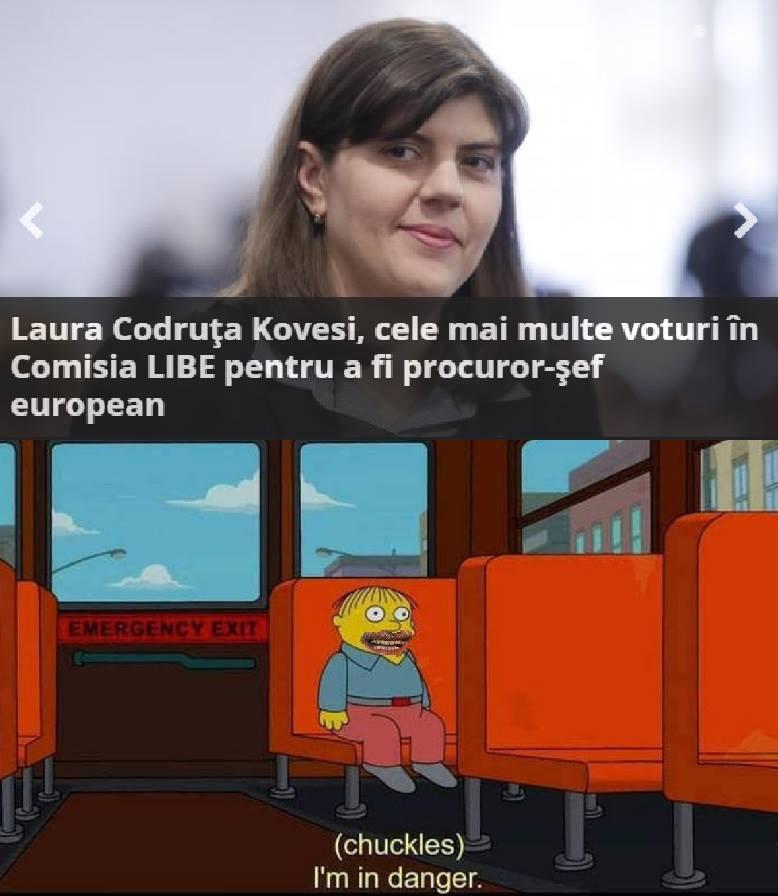 Alex Popescu meme Laura Codruta Kovesi