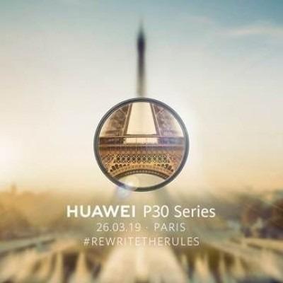 Huawei P30 lansare