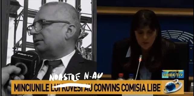 Mihai Ghiduc meme Laura Codruta Kovesi