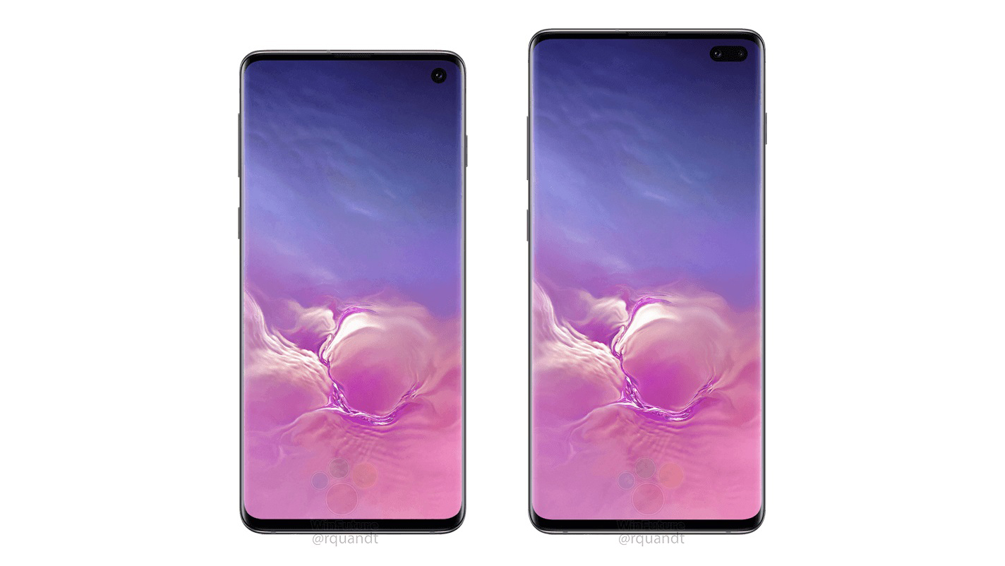 Samsung Galaxy S10 si Samsung Galaxy S10 Plus (1)