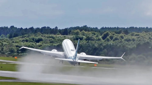 Boeing 737 Max, într-o decolare care te lasă fără răsuflare