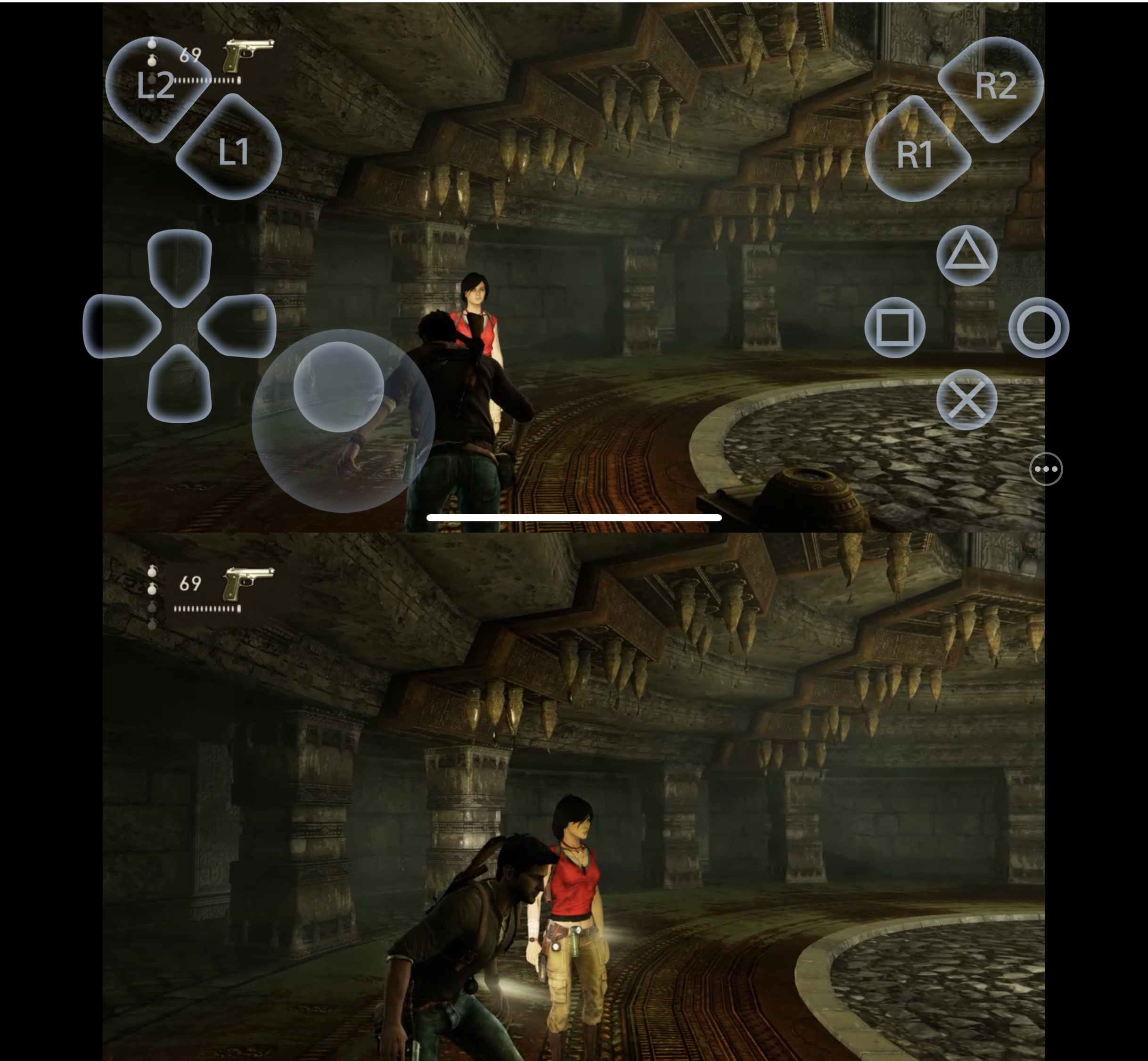 Remote Play uncharted pe iPhone