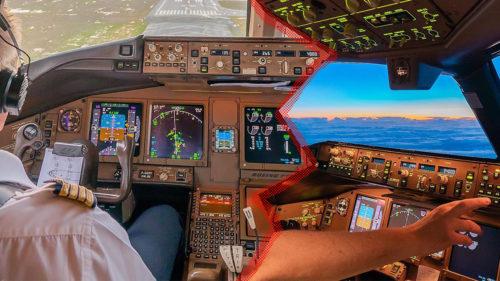 VIDEO Ce se întâmplă când decolează avionul și cum se vede din Boeing