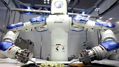 """Mâncărurile noi și sofisticate făcute de """"roboți"""" vor deveni realitate"""