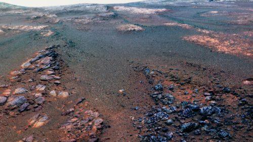 """Ultima poză de pe Marte trimisă """"acasă"""" de rover-ul Opportunity"""