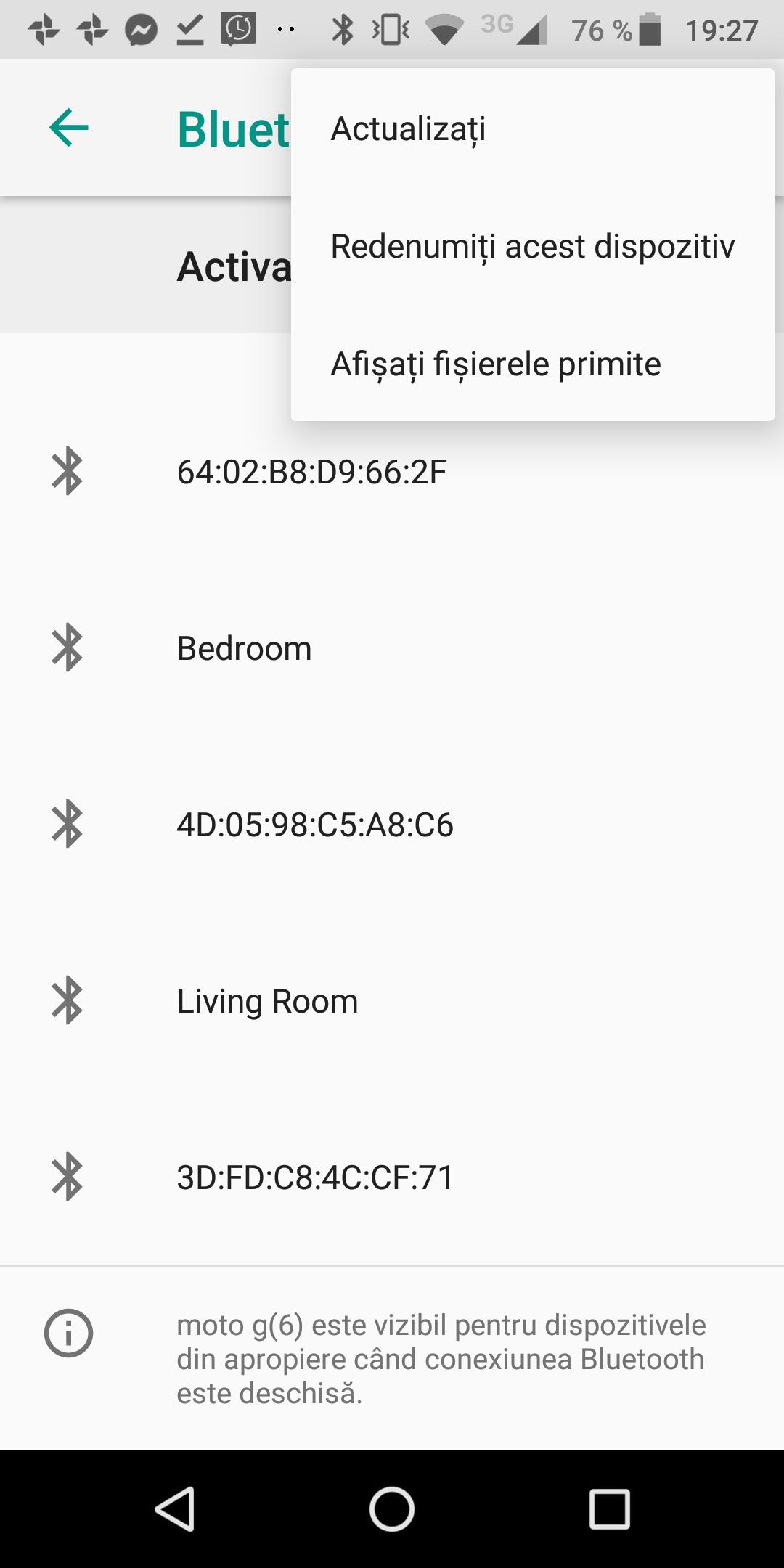 Redenumire Android