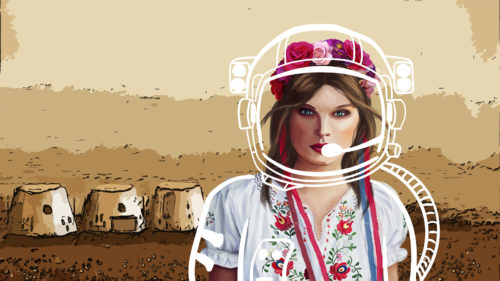 """Andreea, """"domiciliată"""" în spațiu: povestea româncei care aproape s-a mutat pe Marte"""