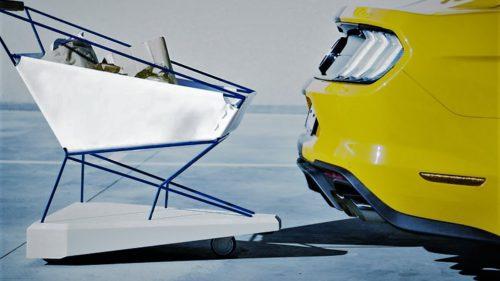 Ford a făcut coșul de cumpărături ideal care nu-ți mai lovește mașina în parcare