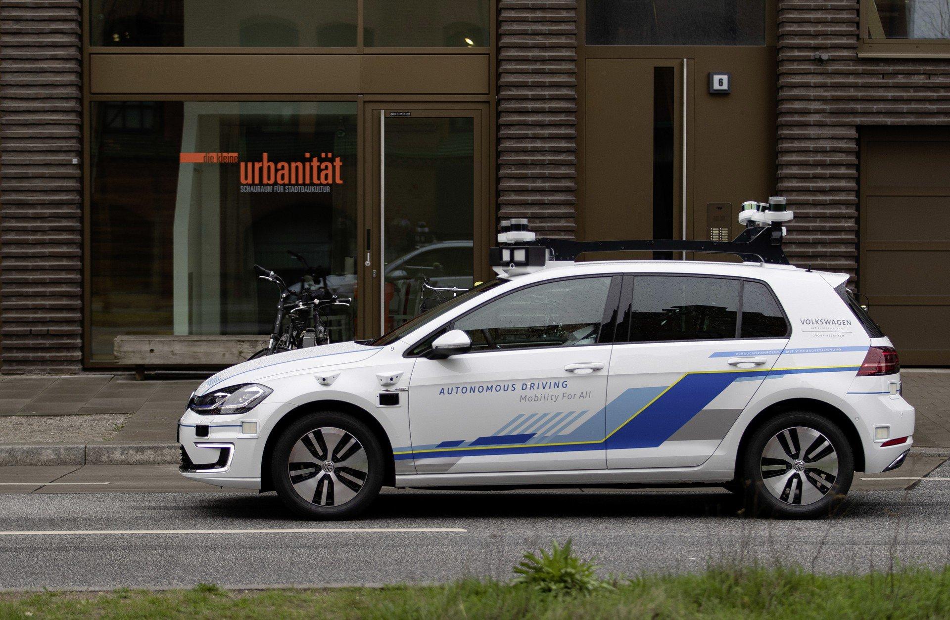 volkswagen masini autonome e-golf