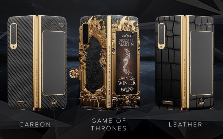 1 galaxy fold caviar gold game of thrones