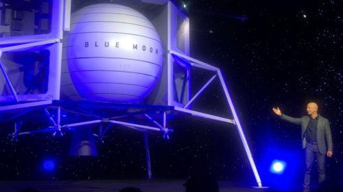 Jeff Bezos vrea să mute industria pe Lună ca să salveze Pământul