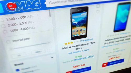 """Telefoane Huawei date la eMAG cu preț de """"adio"""". De ce să le cumperi până nu mai ai ce face cu ele"""