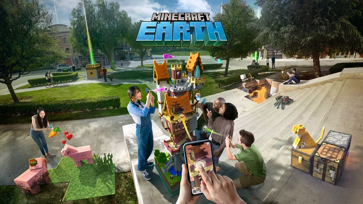 Minecraft Earth wants to compete with Pokemon Go: What You'll Build