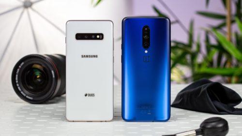 OnePlus 7 Pro versus Samsung Galaxy S10 Plus: care este mai rapid