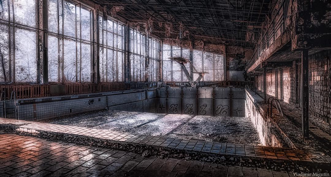 Cernobil zona excludere poze infrarosu (2)