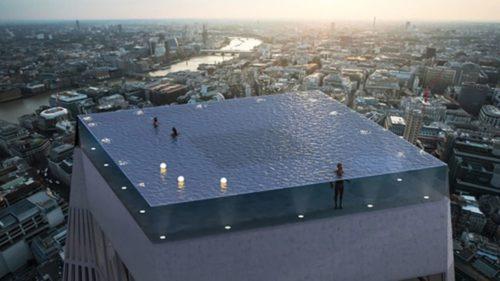 Această piscină infinită este o minune tehnologică și se construiește în curând