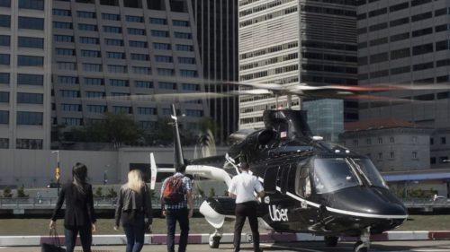 Uber a început să ofere curse cu elicopterul: cât te costă privilegiul