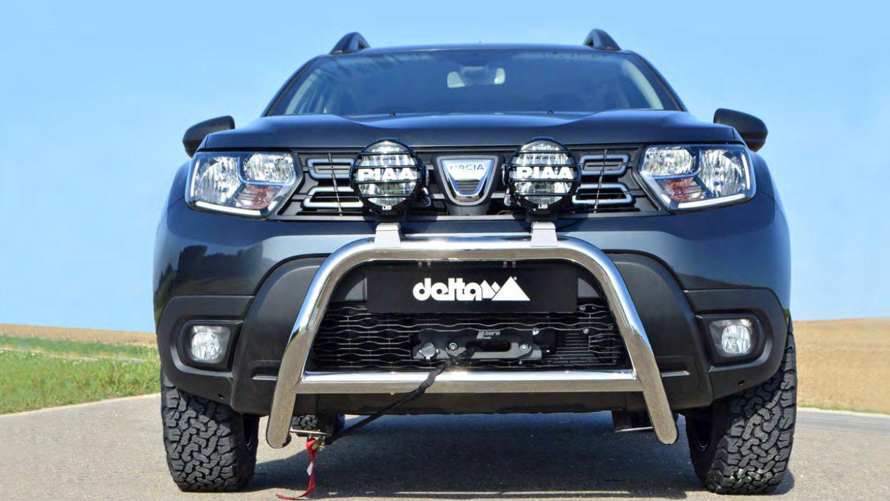 Dacia Duster off road modificare personalizare Delta Germania