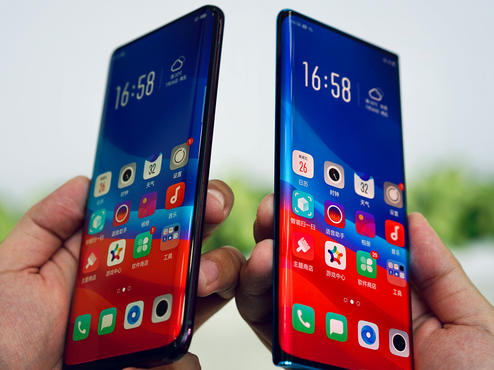 Oppo curved edge screen (1)