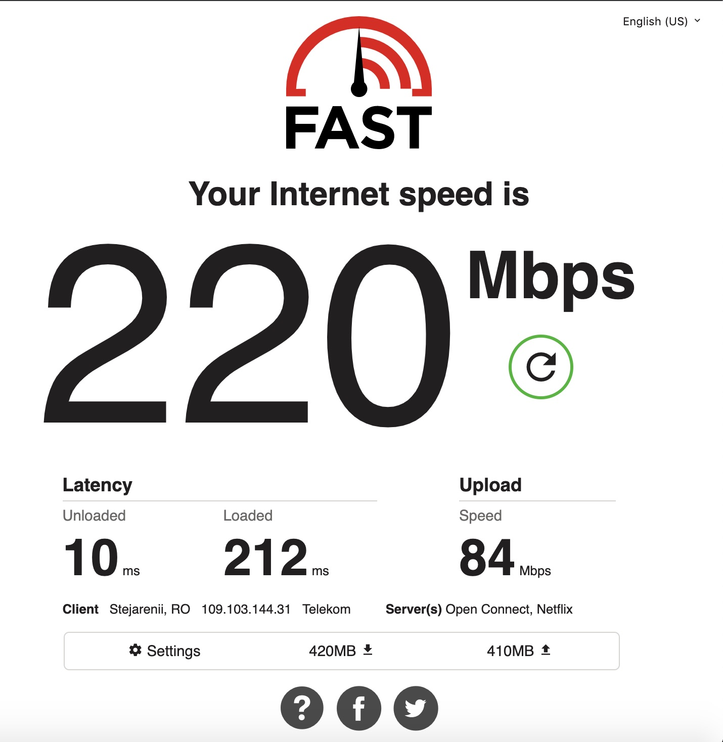 cum testezi corect viteza la internet