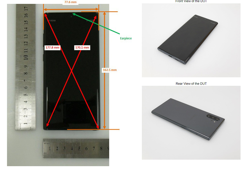 samsung galaxy note leak fcc