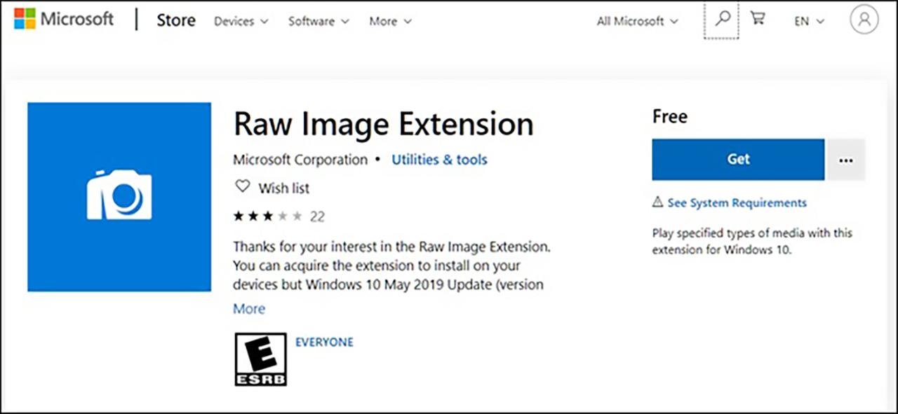 raw image installer