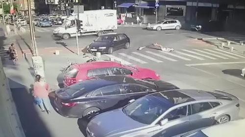 Premieră tristă pentru trotinete electrice: de ce a amendat-o poliția în București, după accident