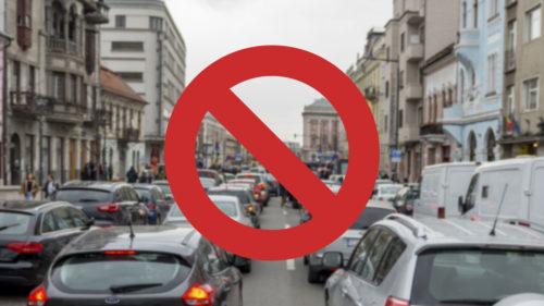 Ziua în care mașinile ar fi interzise în București: ce pregătește Primăria